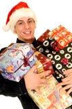 Achats de Noël Photos libres de droits