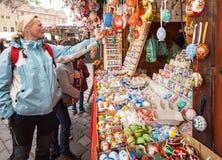 Achats de Pâques Images stock