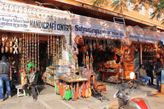 Achats de rue à Jaipur Images libres de droits