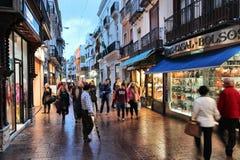 Achats de Séville Image libre de droits