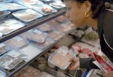 Achats de supermarché Images libres de droits