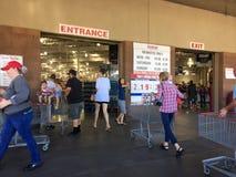 Achats de vente en gros de Costco Photos stock