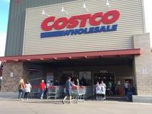 Achats de vente en gros de Costco Image libre de droits
