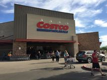 Achats de vente en gros de Costco Photos stock