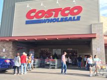Achats de vente en gros de Costco Photo stock