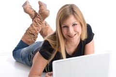 Achats en ligne photographie stock