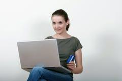 Achats en ligne Images libres de droits