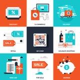 Achats et commerce Photos libres de droits