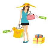 Achats et vente Image stock