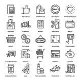 Achats et vente au détail Photographie stock