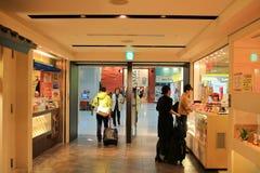 achats hors taxe de l'aéroport de Kansai Image stock