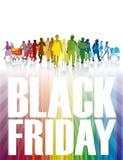 Achats noirs de vendredi Photos libres de droits