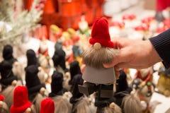 Achats Santa Clause Ornament au temps de Noël photos stock