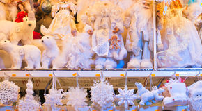 Achats traditionnels de Noël photos libres de droits
