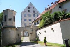 Achberg城堡/Schloss Achberg 免版税库存图片