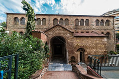 Acheiropoietos, βυζαντινή εκκλησία 5$ος-αιώνα σε Θεσσαλονίκη, Γ Στοκ εικόνα με δικαίωμα ελεύθερης χρήσης