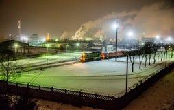 Achema-Fabrik Lizenzfreies Stockbild