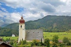 Achenkirch, ειδυλλιακό αυστριακό θέρετρο υγείας Στοκ Εικόνες