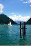 achensee湖 库存图片