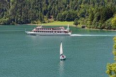 Achensee jezioro przy Tirol w Austria Obrazy Royalty Free