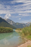Achensee - lago em Áustria fotografia de stock royalty free
