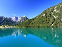 The Achensee Lake in Austria Royalty Free Stock Photos