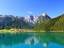 Achensee laken i Österrike Arkivbild