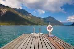 Achensee See Achen in Österreich Lizenzfreie Stockfotos