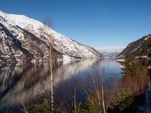 Achensee sjö i Österrike fotografering för bildbyråer