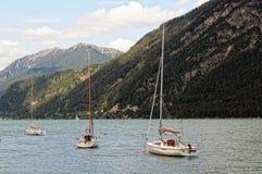 Achensee sjö på tirol i Österrike Royaltyfria Bilder