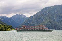 Achensee sjö på tirol i Österrike Fotografering för Bildbyråer