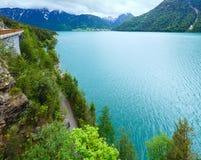 Achensee sommarliggande (Österrike). Royaltyfri Foto