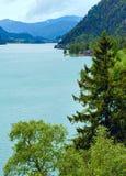 Achensee summer landscape (Austria). Stock Photos