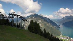 Achenseemeer in Tirol stock videobeelden