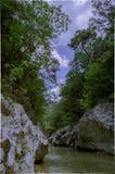 Acheron river in epirus Stock Image