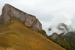 Acheshbok-Berg im Herbst, Adygeya, Russland Stockbilder