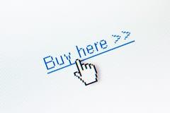 Achetez ici la tige Photos libres de droits