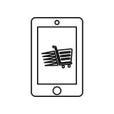 Achetez le marketing en ligne et numérique Photographie stock libre de droits