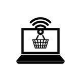 Achetez le marketing numérique en ligne Photos libres de droits