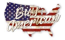 Achetez le signe américain de vintage illustration libre de droits