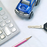 Achetez un véhicule Photographie stock