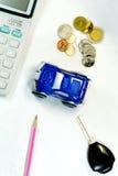 Achetez un véhicule Photo stock