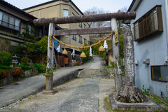Achi shrine in Achi village, Nagano, Japan Stock Photos