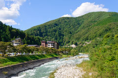 Achi village in Nagano, Japan Royalty Free Stock Photography