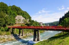 Achi village in Nagano, Japan Stock Images