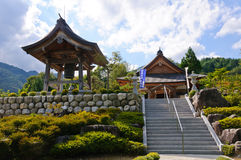 Achi village in Nagano, Japan Royalty Free Stock Photo