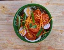 Achichuk-Salat Stockfoto