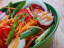 Achichuk-Salat Lizenzfreie Stockfotografie