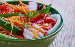 Achichuk-Salat Stockfotos