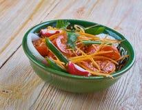 Achichuk-Salat Lizenzfreies Stockbild